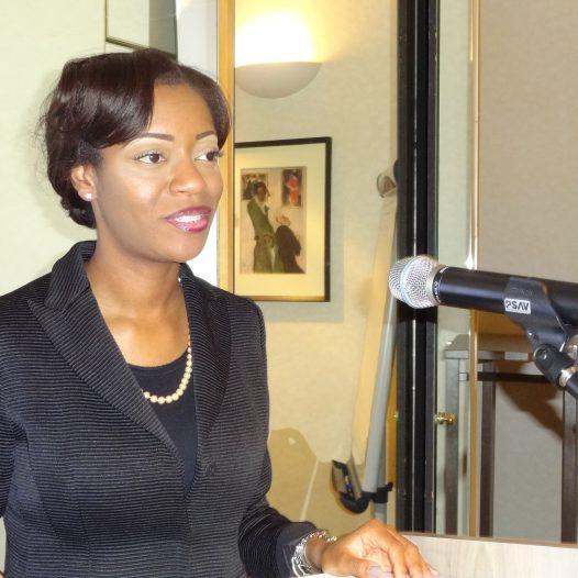 Ivy Pendleton, UN Keynote Speaker Paris France