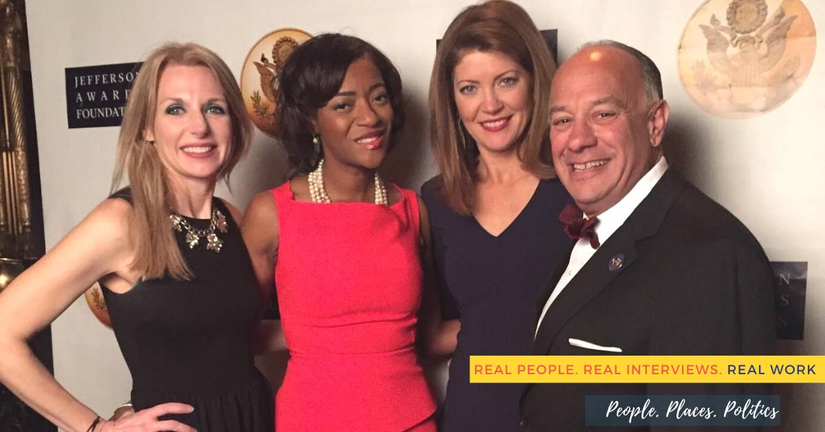 Ivy Pendleton, Norah O'Donnell Jefferson Awards Foundation New York